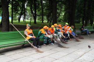 Какая зарплата у дворника в России