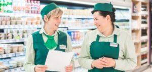 Какая зарплата у продавцов в магазинах