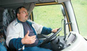 Средняя зарплата дальнобойщика в России