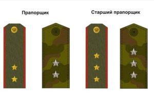 Какая зарплата у прапорщика в армии
