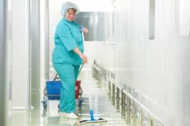 Средние зарплаты санитарок в России